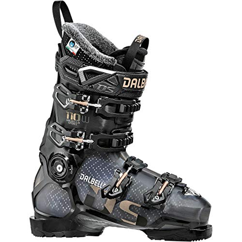 Dalbello Sports DS 110 Ski Boot - Women's Black Trans/Black, 22.5 (Dalbello Ski Boots Women)