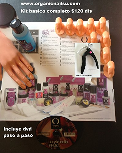Kit Acrilico Complete Organic Nails para principiantes by Organic Nails