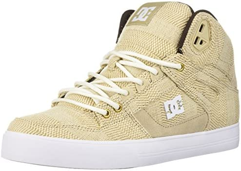 DC Men s Pure High-top Wc Tx Le Skate Shoe