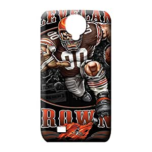 samsung galaxy s4 Appearance Scratch-proof stylish mobile phone covers cleveland browns nfl football