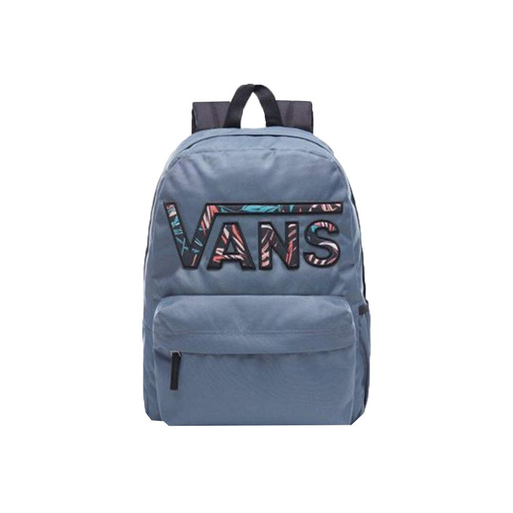 2b167a15b13c6 VANS Realm Flying V Womens Backpack One Size Dark Slate Black California  Floral  Amazon.ca  Clothing   Accessories