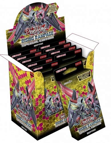 Yugioh Rising Rampage Special Edition SE Booster Box - 30 Packs + - Gi Edition Box Booster Yu Oh