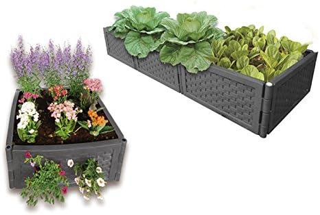 UPP® bancos multifunción para jardín I cama elevada de jardín I ...