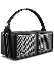 Zamkol Portable Wireless Bluetooth V4.2 Lautsprecher Subbass Leistungsstarker 25 Watt(360° Sound, IPX7 Wasserfest und Stoßfest)