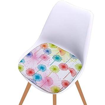 TINGSU - Cojín para silla de cocina, 40 x 40 cm (A): Amazon ...