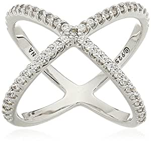 Amazon.com: Platinum or Gold Plated Sterling Silver Criss ...