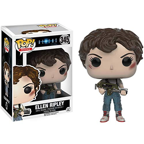 (Funko Ellen Ripley: Alien x POP! Movies Vinyl Figure & 1 POP! Compatible PET Plastic Graphical Protector Bundle [#345 / 10133 -)