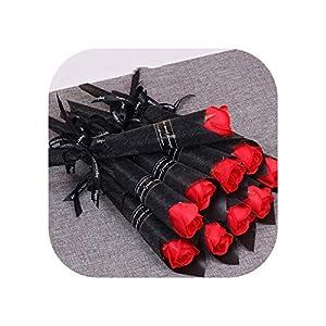 30/50Pcs Roses Soap Flowers Creative Romantic Wedding Favors Flower for Valentine's Company Activity 18
