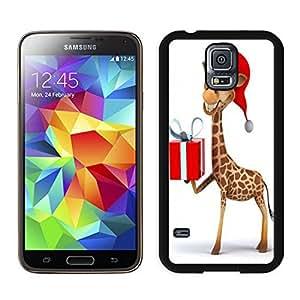 Customization Christmas giraffe Black Samsung Galaxy S5 Case 1