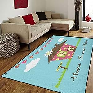 Amazon Com Home Sweet Home Door Mats For Home Cozy Town