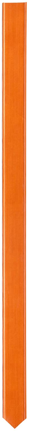 "Brady 96950 66"" Height, 3-3/4"" Width, B-130 Reinforced Polymer, Orange Color Blank Bradystake Warning Stakes - With Points"