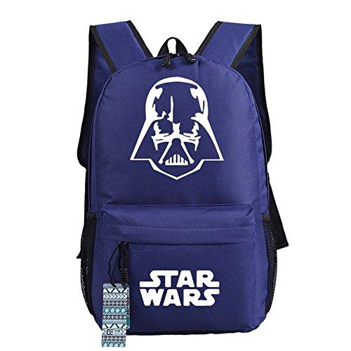 Star Wars Anakin Cosplay Casual Bag Zaino Sacchetto Di Scuola 17 Scelte Tipo 6