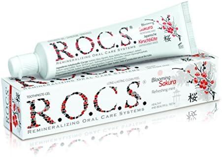 R.O.C.S. - Blühende Kirsche Zahncreme Heilende Eigenschaften & ein ungewöhnliches Aroma - 74 g