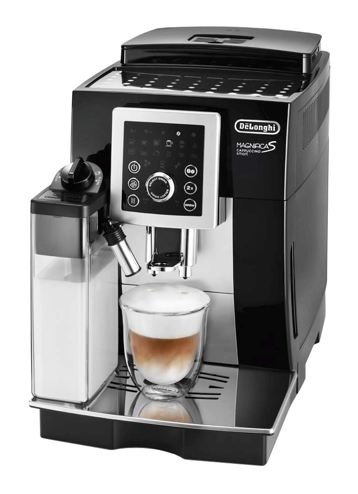 "Delonghi "" MAGNIFICA S CAPPUCCINO smart "" ECAM23260SBN (BLACK × SILVER)【Japan Domestic genuine products】 【Ships from JAPAN】"