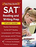 img - for SAT Reading and Writing Prep Study Guide & Practice Test Questions for the SAT Reading Comprehension, SAT Writing and Language, and SAT Essay Sections book / textbook / text book