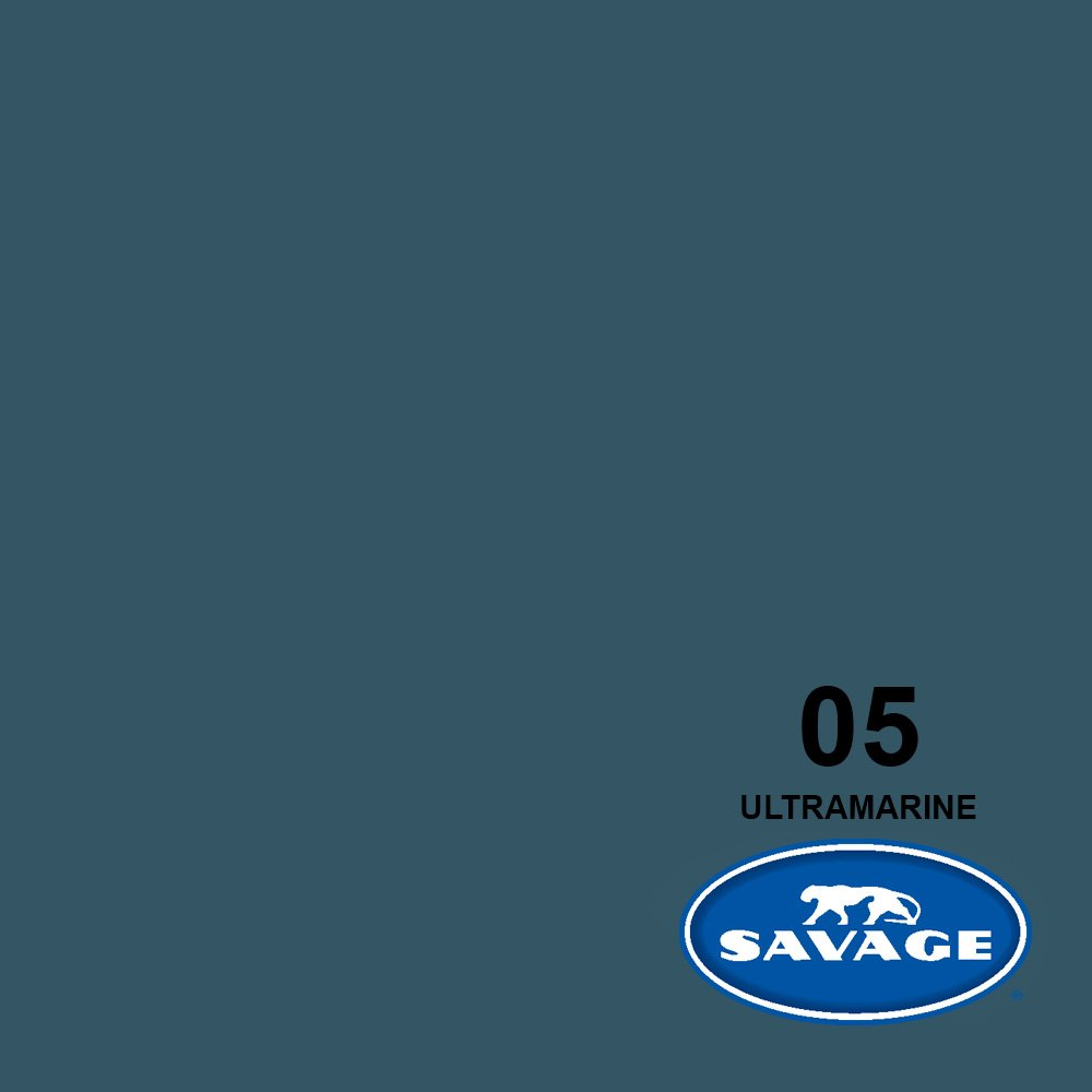 Savage Seamless Background Paper - #5 Ultramarine (107 in x 36 ft) by Savage (Image #2)