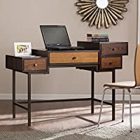 Kedzie Multilevel Desk in Classic Espresso