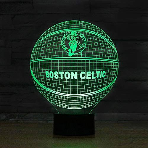 Lucky2Buy Optical Illusion Millennium Falcon Decor Toy Lamp (Celtics)