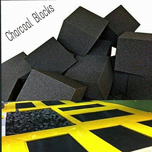 Foam-Pits-BlocksCubes-1000-pcs-CHARCOAL-6x6x6-1545-Flame-Retardant-Pit-Foam-Blocks-For-Skateboard-Parks-Gymnastics-Companies-and-Trampoline-Arenas