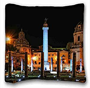 Generic Personalized City Custom Zippered Pillow Case 16x16 inches(one sides) from Surprise you suitable for Twin-bed