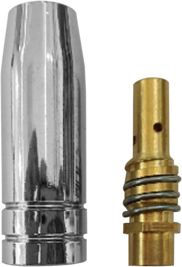 LNIMIKIY Schwei/ßd/üsen 12 ST/ÜCKE 15AK Durable Tool Kit Tragbare Professionelle Leitf/ähige Taschenlampe Verbrauchsmaterial Maschinenschutz Pleuel Einfach Installieren Kupfer 0,6