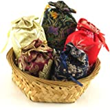 Bamboo Charcoal Cloth Bag 240g 5pc - One of each color