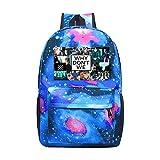Band_Why_Don't_We Galaxy 3D Printed School Bag Casual Rucksack Waterproof School Backpack Daypacks For Kids Teens
