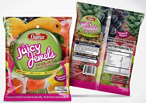 3X Ouma Juicy Jewels Fruit Jelly (250gram)-3 Pack