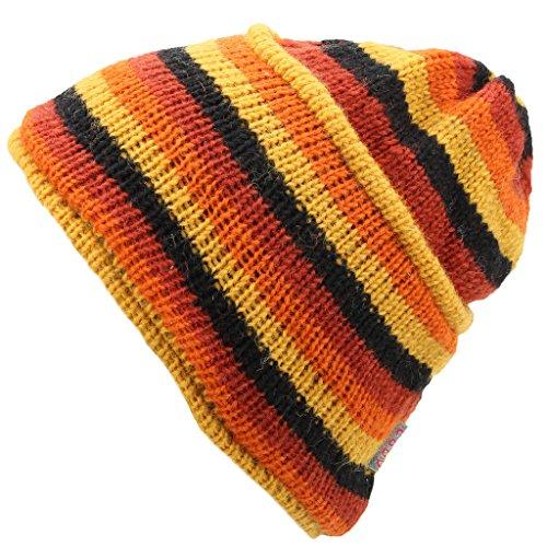 Hombre Gorro Loud Punto Black Yellow para Orange de Hats HaOnrxaX