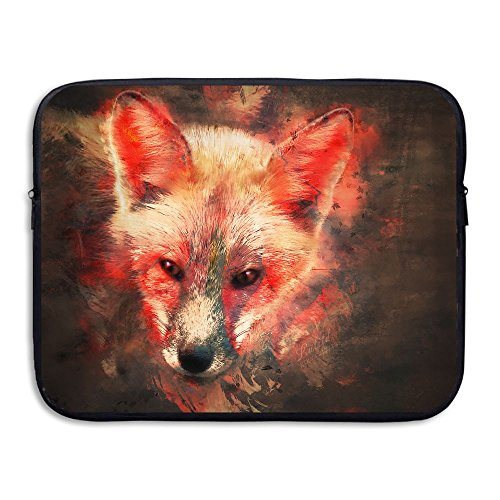 Fire Fox Water Repellent Laptop Case Bags Printed Ultrabook Briefcase Sleeve Bags Cover For Macbook Pro/Notebook/Acer/Asus/Lenovo Dell 13 - Rich Chicago Mall