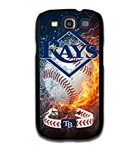 Tomhousomick Custom Design Forever MLB Tampa Bay Rays Team Case Cover for Samsung Galaxy S3