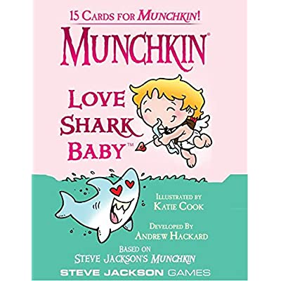 Steve Jackson Games Munchkin Love Shark Baby Card Game: Toys & Games