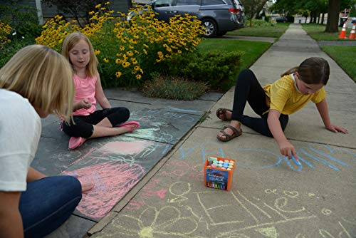 regal games chalk city 20 piece jumbo washable sidewalk