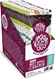 Veggie-Go's Organic Fruit and Veggie Strip with No Added Sugar, Beet, Apple, Cinnamon, 0.42 Ounce (Pack of 20)