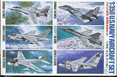Tamiya Models Modern United States Navy Aircraft Set #1