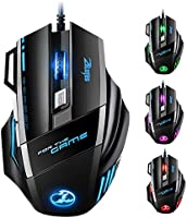 VICTSING Souris Gamer LED Optique