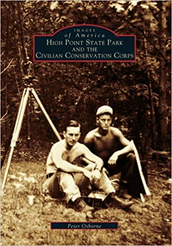 Front cover for the book High Point State Park and the Civilian Conservation Corps by Peter Osborne