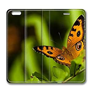 iPhone 6 Plus Case, Fashion Protective PU Leather Flip Case [Stand Feature] Cover Butterfly 21 for New Apple iPhone 6(5.5 inch) Plus