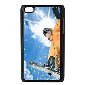 Skiing iPod Touch 4 Case Black