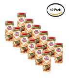 PACK OF 12 - Nestle Coffeemate Sugar Free Vanilla Caramel Powder Coffee Creamer 10.2 oz. Canister