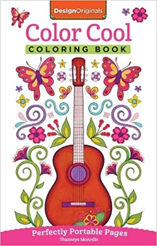 Color Cool Coloring Book Perfectly Portable Pages On The Go Design Originals Thaneeya Mcardle 9781497201774 Amazon Books