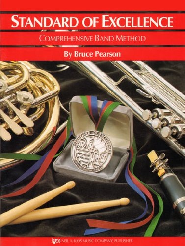 W21PR - Standard of Excellence Book 1 Drums and Mallet Percussion - Book Only (Standard of Excellence Comprehensive Band Method) cover