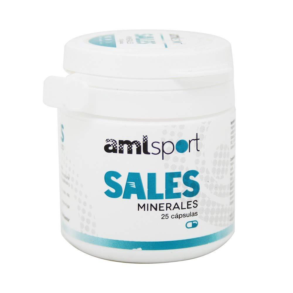 AML Sport Sales Minerales - 25 Cápsulas: Amazon.es: Salud y cuidado personal