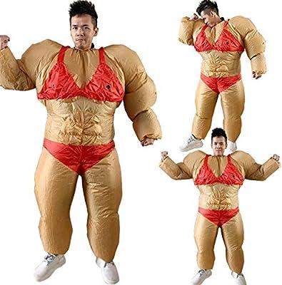 cuffslee - Disfraz de Sumo Party, Disfraz de Sumo Hinchable ...