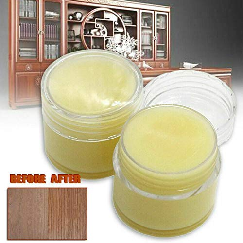 Wildtrest 50g Natural Beeswax Polish Organic Wax Oil Wood Furniture Waxing Maintenance Wood Conditioners, Waxes & Oils