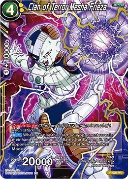 Clan of Terror Mecha Frieza - Shop Tournament Promo - P-008 - PR - Special Anniversary Box - Foil