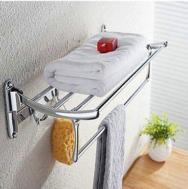 Bathroom Shelf Contemporary Stainless Steel 1 Pc Hotel Bath