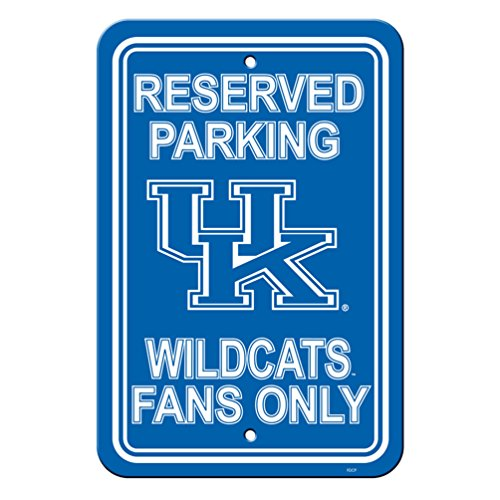 (Fremont Die Kentucky Wildcats Plastic Parking Sign)