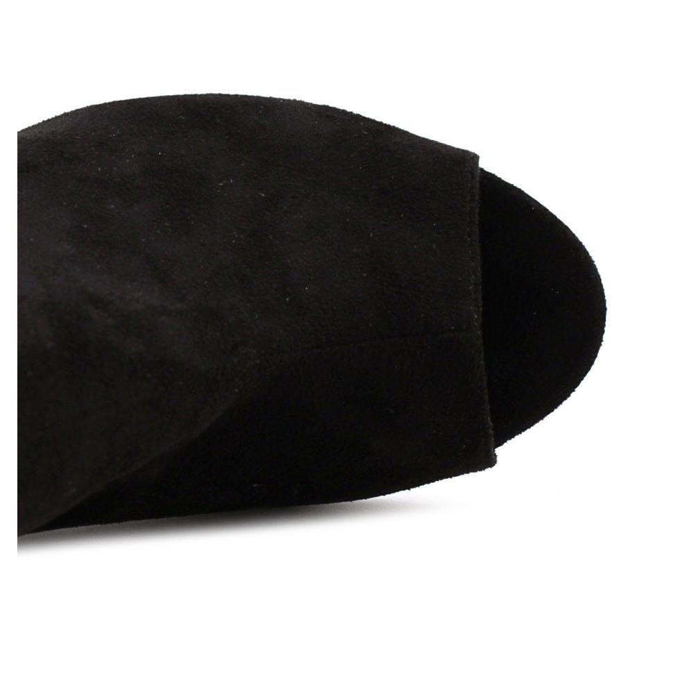Caparros schwarz Frauen Stiefel schwarz Caparros Suede 6734a9