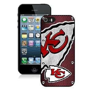 Kansas City Chiefs 05 Black Best Buy Customized Design iPhone 5S Case